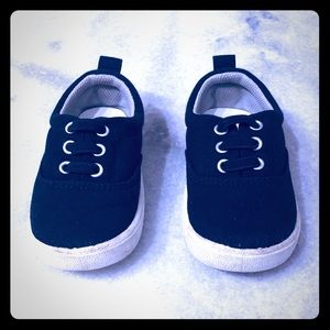 Toddler Navy Slip on Sneakers Size 5